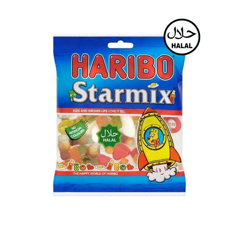 A picture of Halal Haribo Starmix.