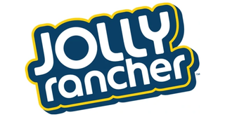 A picture of the Jolly Rancher logo against a white background.