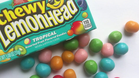 A picture of Chewy Tropical Lemonheads.