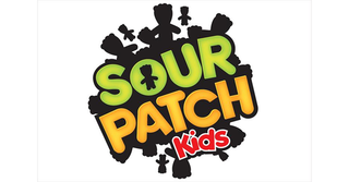 A picture of the Sour Patch Kids logo against a white background.