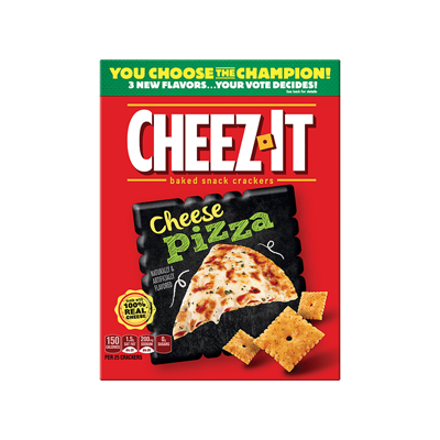 Cheez-It Cheese Pizza