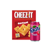 Snack & Sip - Cheez-It Original & Wild Cherry Fanta