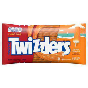 Orange Cream Pop Twizzlers - Limited Edition