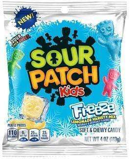 The Sour Patch Kids Free Lemonade Mix packet.
