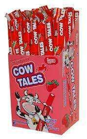 A box of Strawberry Cow Tales.