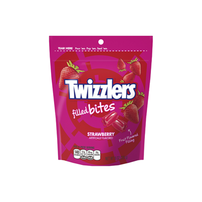 Twizzler Strawberry Filled Bites