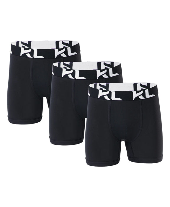 Men underwear ultra soft microfiber fabric - 3 Pack BLACK