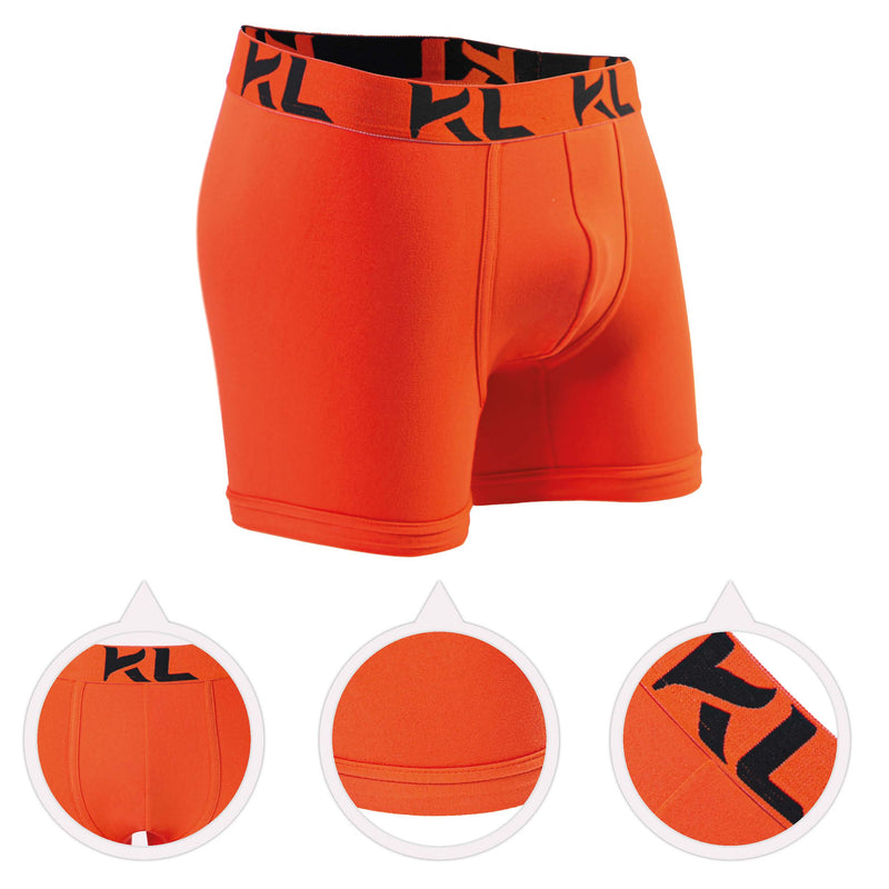 Men underwear ultra soft microfiber fabric - 3 Pack ORANGE/YELLOW/GREEN