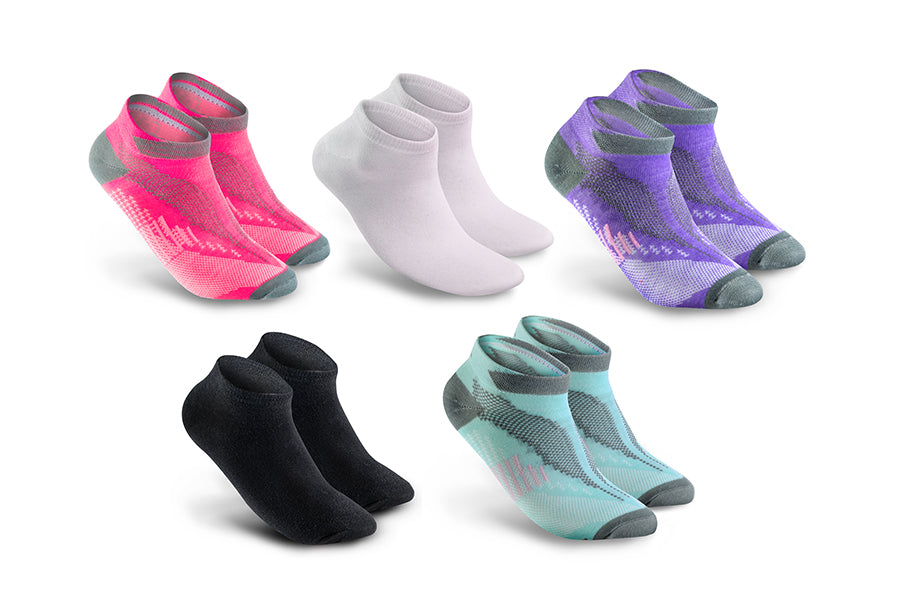 Women's 9 Pairs Sport Cool Comfort Ankle Socks