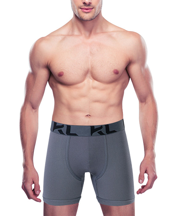 Men underwear ultra soft microfiber fabric -  3 Pack BLACK/GRAY/WHITE