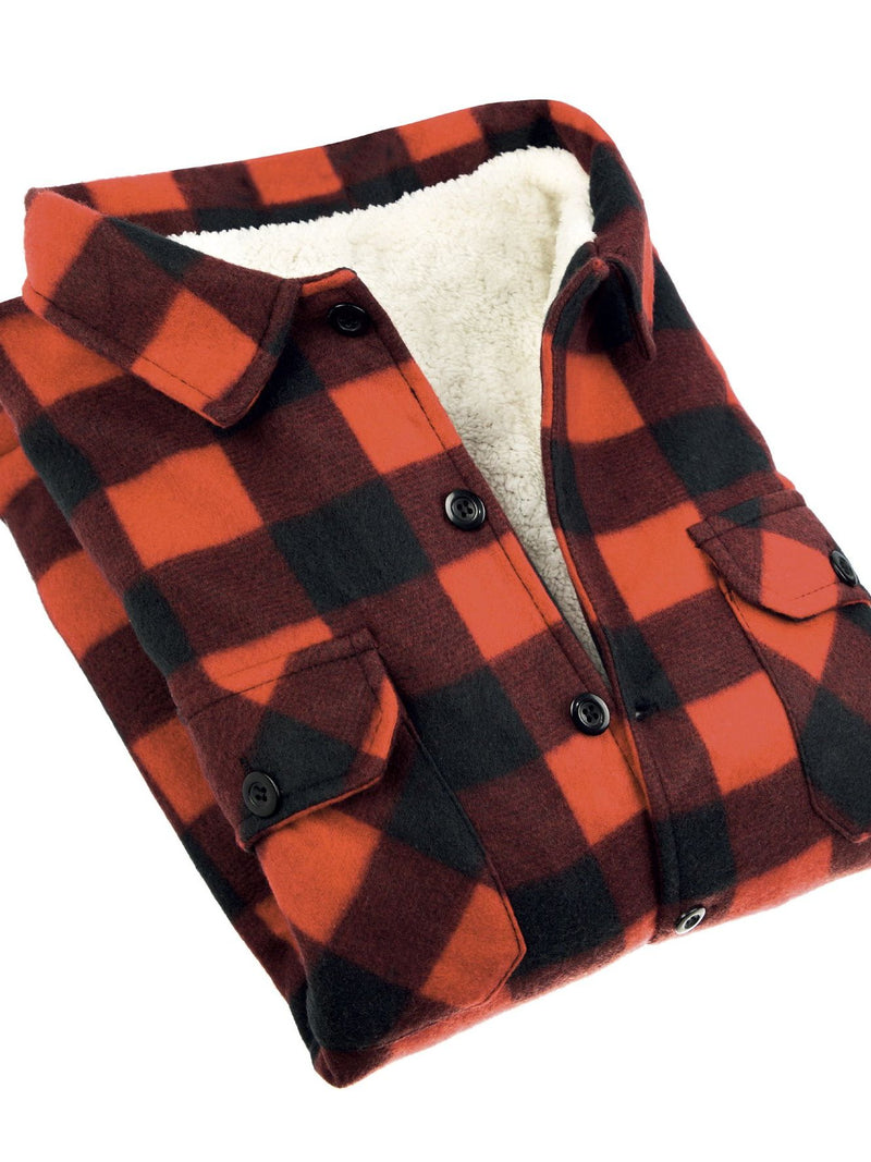 Copy of Lumberjack Jacket for Men Red - Heat Insulator