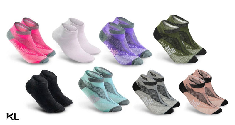 Women's 24 Pairs Comfortable, Cool, Sporty Ankle Socks