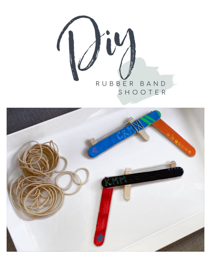 DIY Rubber Band Shooters