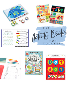 Best Activity Books for Toddlers