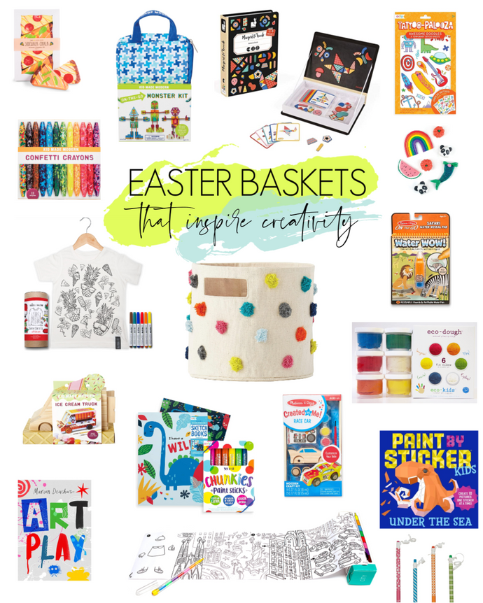 Easter Baskets That Inspire Creativity