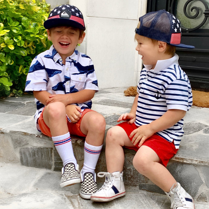 Perfectly Patriotic 4th of July Outfits for Boys