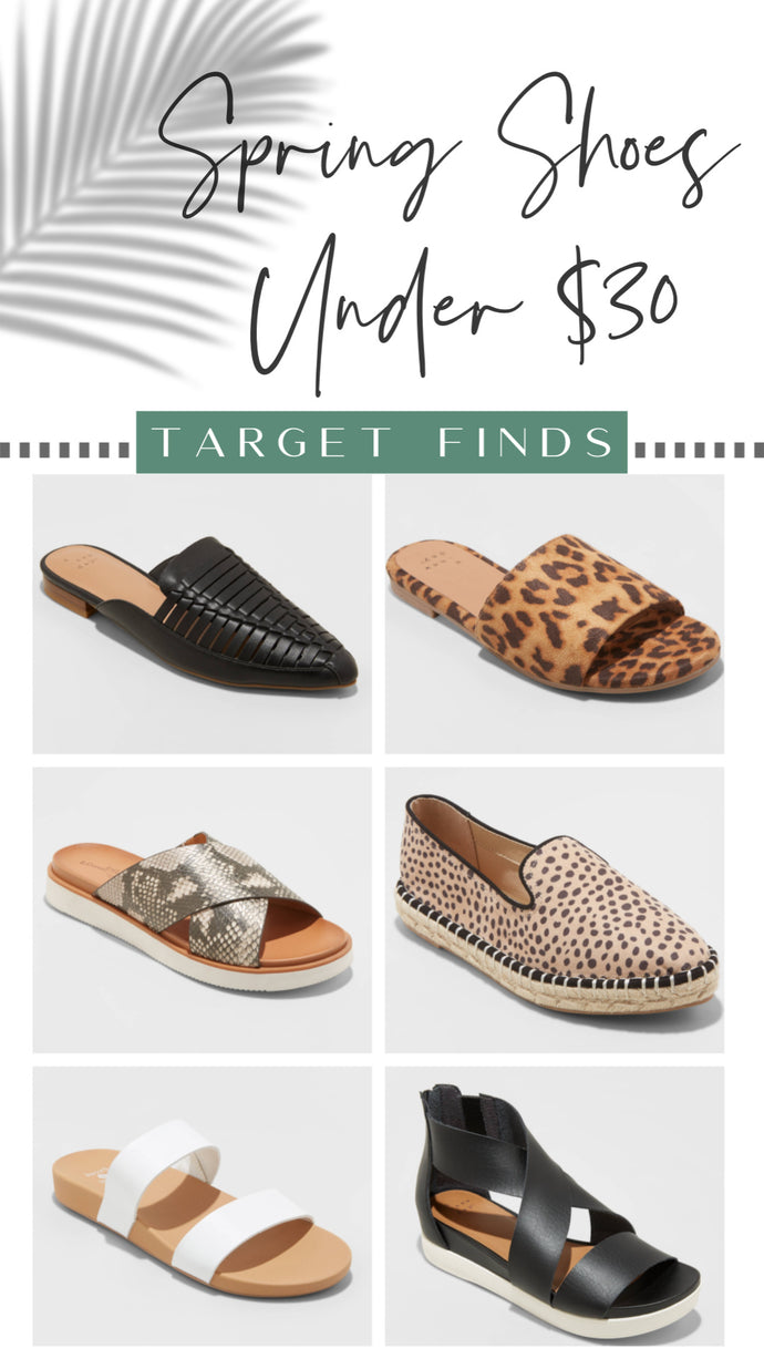 6 Shoes for Spring Under $30