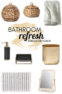 BATHROOM REFRESH: Target Finds