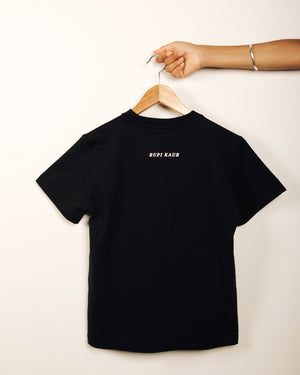 """other women's bodies"" Black T-shirt"