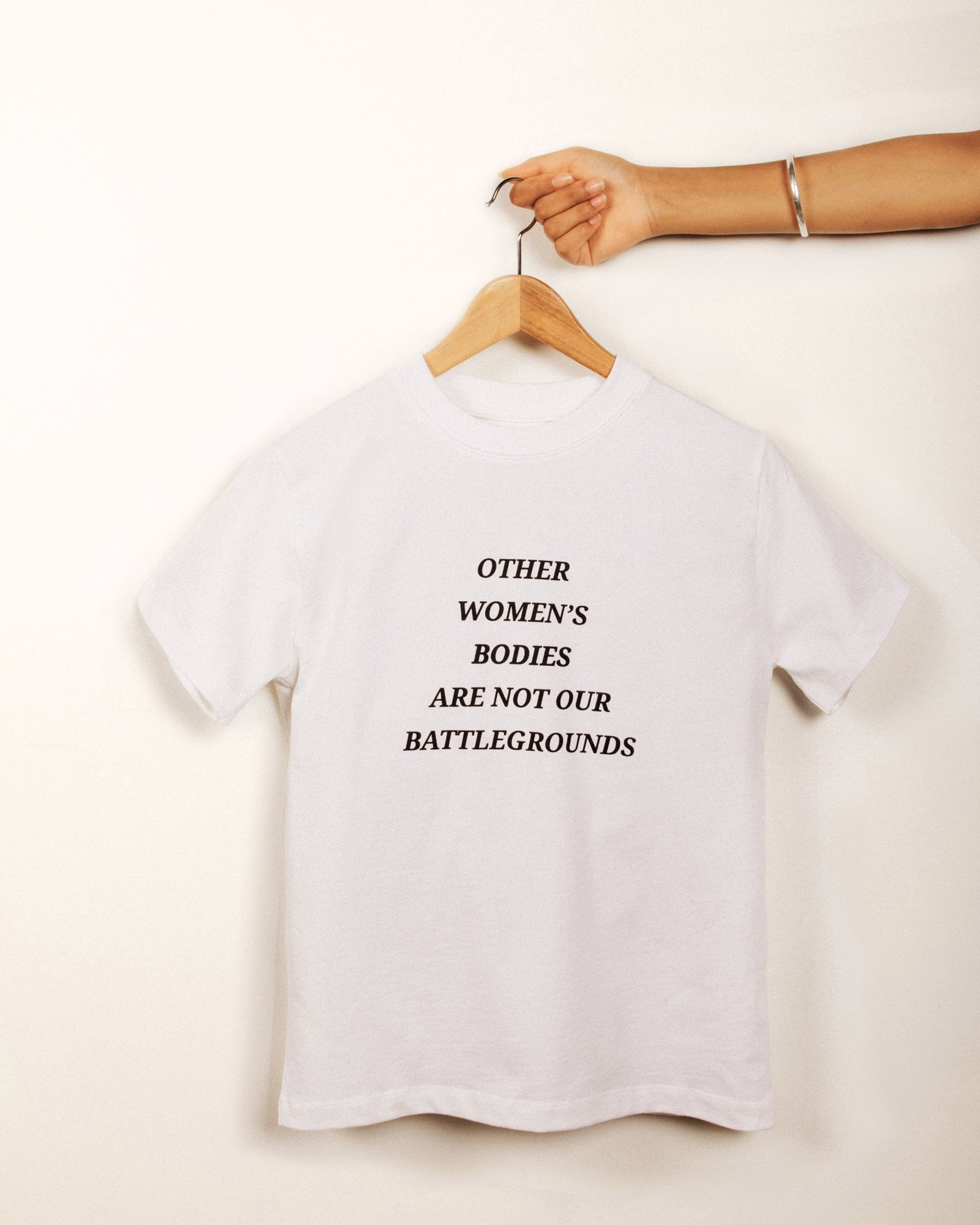 'other women's bodies' White T-shirt
