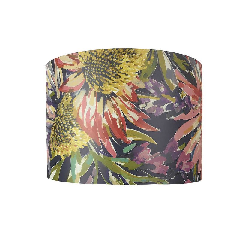 Lamp Shade with Bold Summer Flowers - ZziniHome