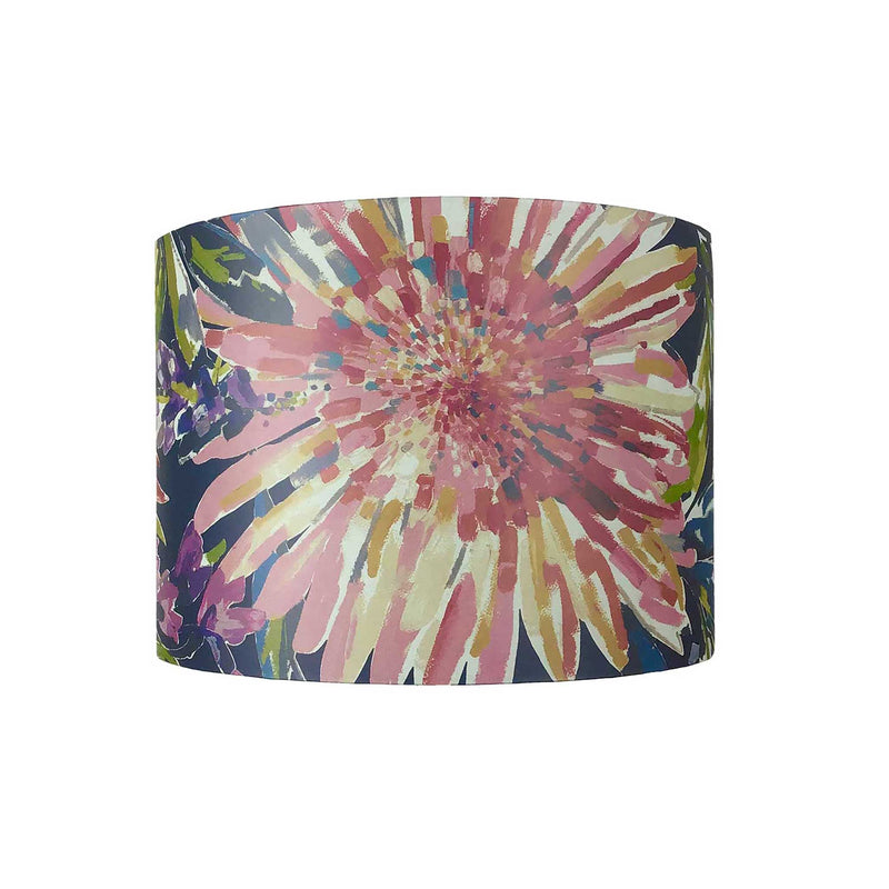 Lamp Shade in Bold Flower Design made With Harlequin Paper - ZziniHome