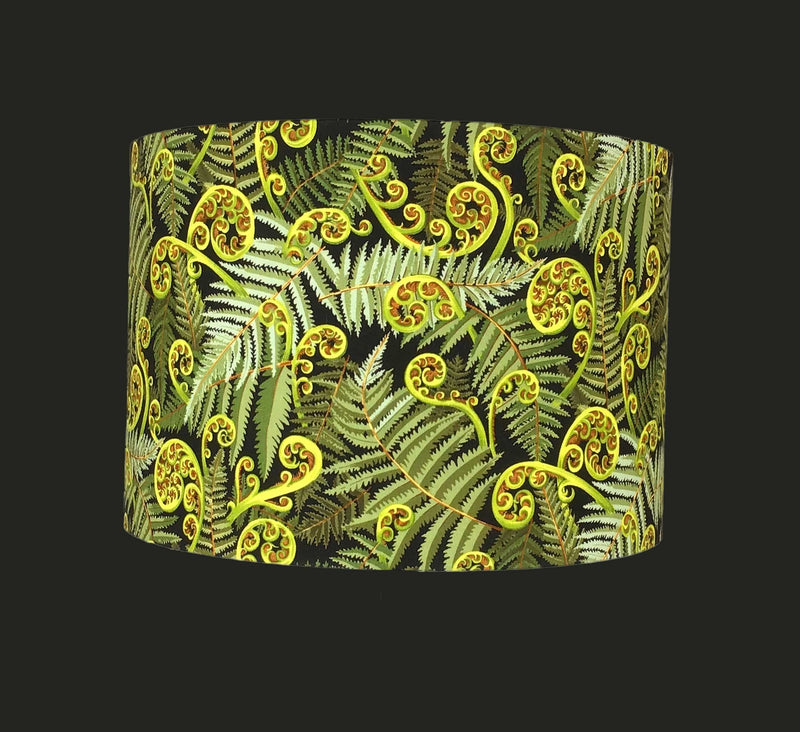 Hand Made Bespoke Lamp Shade in Stunning Fern Design