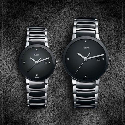 RADO CENTRIX BLACK 9554 Couple