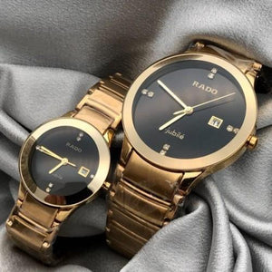 RADO CENTRIX GOLD 7655 Couple