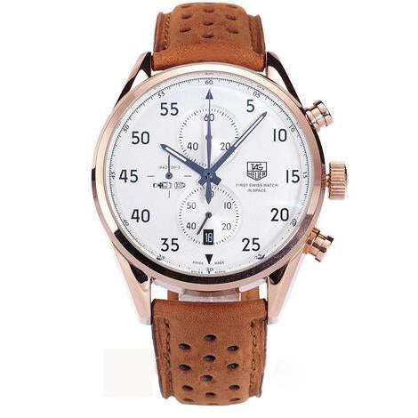 TAG ROSEGOLD DIAL WHITE