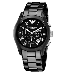 ARMANI STAINLESS STEEL CHRONOGRAPH SILVER AR 1341