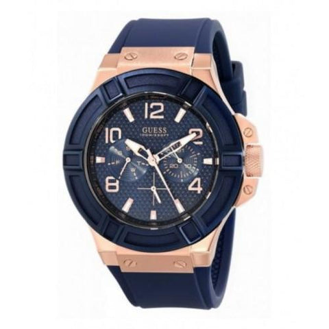 Guess Analog Blue Dial 881