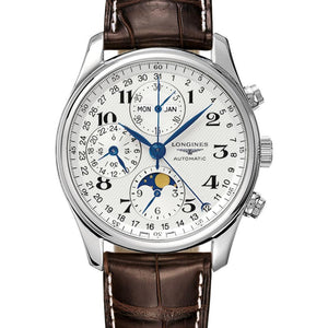 LONGINES MASTER COLLECTION SILVER 6122