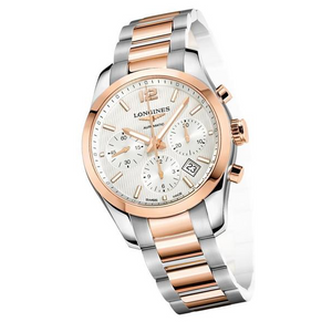 LONGINES CONQUEST CLASSIC CHRONOGRAPH WHITE 6755