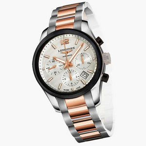 LONGINES CONQUEST CLASSIC CHRONOGRAPH WHITE 6750