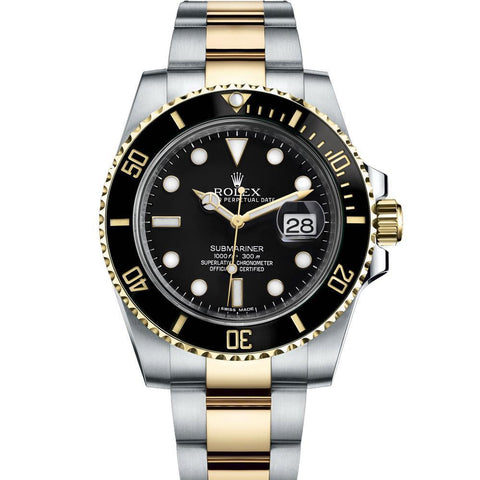 ROLEX 8880 STAINLESS STEEL BLACK DIAL