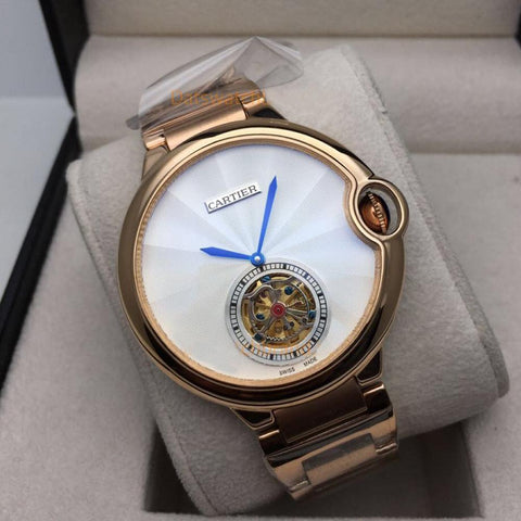 CARTIER NEW WHITE DIAL 7859