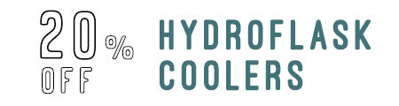 20% Off Hydroflask Coolers