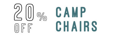 20% Off Camp Chairs