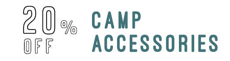 20% Off Camp Accessories