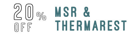 20% Off MSR & Thermarest