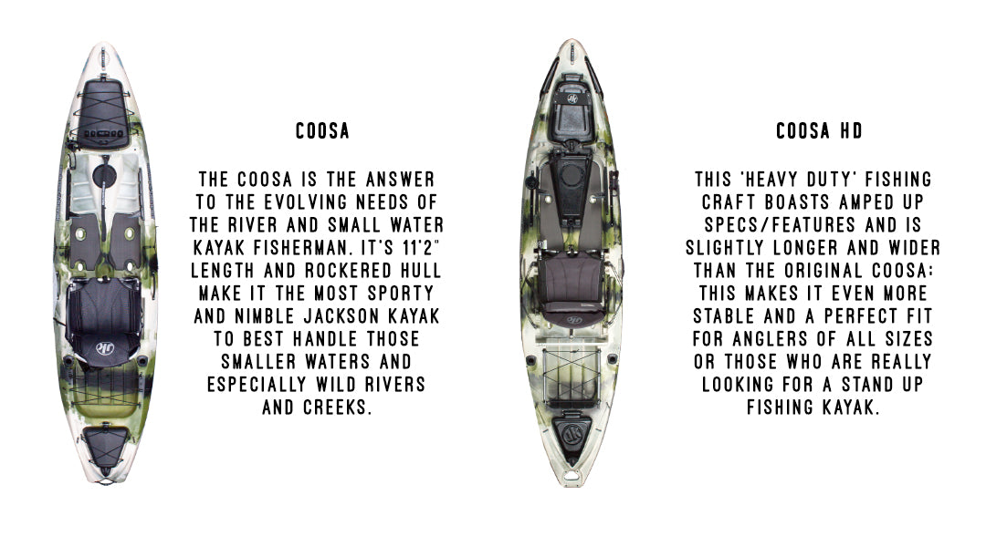 Jackson Kayaks Coosa and Coosa HD