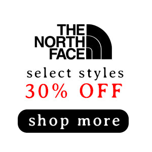 30% Off Select The North Face