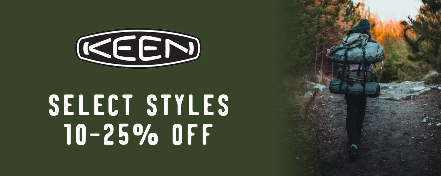Keen Select Styles 10-25% Off