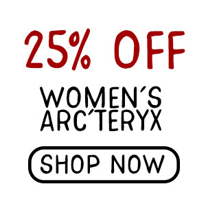 25% Off Women's Arc'teryx