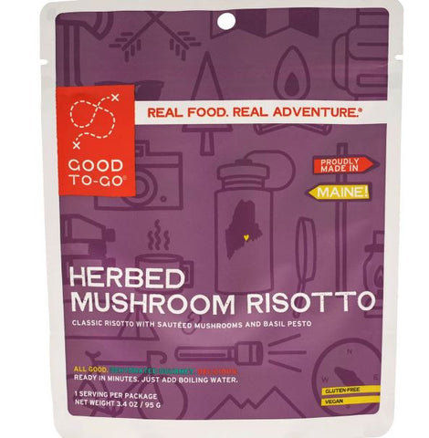 Good To-Go Mushroom Risotto 3.4oz