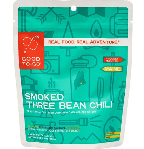 Good To-Go Smoked Three Bean Chili 3.4oz