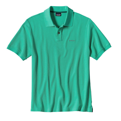 Patagonia Men's Belwe Pique Polo - OutdoorsInc.com