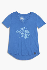 United by Blue Women's Mountains are Calling Shirt - OutdoorsInc.com