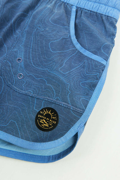 United by Blue Women's Topography Boardshort - OutdoorsInc.com